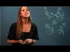 When it comes to comparing fractions, some methods are easier and more direct than others. Learn about an easy way to compare fractions with help from a mathematician and instructor in this free video clip.    Expert: Marija Kero  Bio: Marija Kero graduated from the Pforzheimer Honors College at Pace University with a Bachelor's Degree in Mathemati...