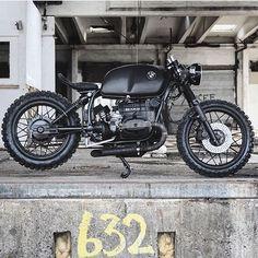 "Photo courtesy of @relicmotorcycles :: Bike - BMW R100 ""Black Baron"" :: #triumph #honda #suzuki #yamaha #ducati #caferacer #caferacers #classic #croig #caferacersofinstagram #motorcycle #motorcycles #motorbike #vintage #harleydavidson #vintagemotorcycle #bonneville #scrambler #thruxton #moto #oldsoulsandiron #gentleman #caferacerxxx #travel #caferacerporn #adventure #roadtrip  #caferacerculture #bmw #custom"