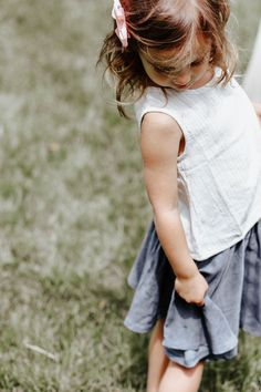 Personalized Child's Shopping Service. Two of the most versatile pieces in the box were a preppy striped tank and the softest flouncy twirl skirt - chosen by stylist Molly P. Toddler Fashion - Little Girls Fashion.