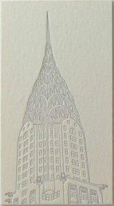 beautiful letterpress business card of artist Thomas Kurilla....Sara Humphreys lookee this!