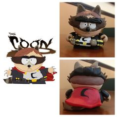 South Park Cartman The Coon Polymer Clay Awesome