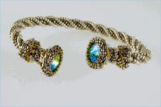 """Davida's Dream"" Beading Kit-everything you need to make this cable style bracelet"