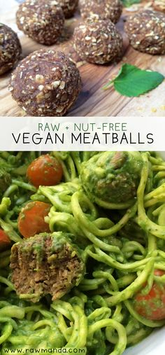 Vegan Mushroom Meatballs + Creamy Avocado Sauce - This delicious meatball recipe is packed with amazing flavors. It's the perfect meat-free substitute paired with a mouth-watering creamy avocado sauce!