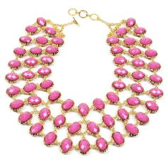Amrita Singh Hampton Reversible Bib Necklace ($300) ❤ liked on Polyvore