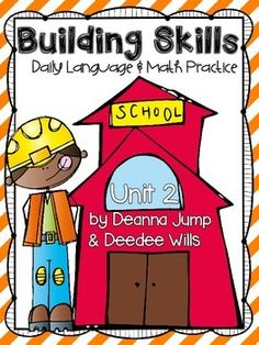 Building Skills:  Daily Language & Math Practice Unit 2