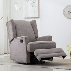 Neary Manual Swivel Glider Recliner