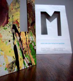 M card  www.behance.net/gallery/3331173/M-card