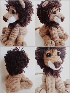 Hello crochet lion, Rawr! I'm made this little guy for my adorable little nephew. Not sure if he'd appreciate a plush toy, but I know for sure that if he had a spirit animal lion would be it. So he...  is a free pattern!!!
