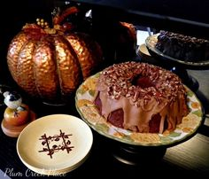 November 2014 National Bundt Cake Day I baked my first bundt cake this week for Cuisine Kathleen's Bundt Cake Challenge on Wednesd. Cake Day, Thanksgiving Tablescapes, Doughnut, Plum, Muffin, Apple, Baking, Breakfast, Desserts