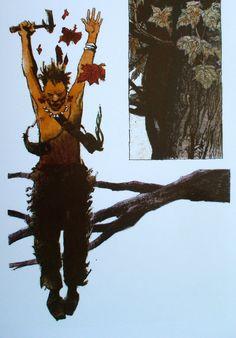 © DINO BATTAGLIA. L'homme de la Nouvelle-Angleterre. Mosquito 2009. -page 13 (détail)