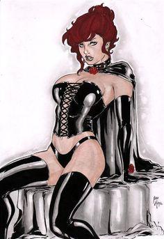 Iago Maia: Black Queen by comiconart.deviantart.com on @DeviantArt