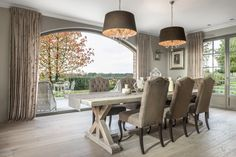 Dining Room Inspiration, Interior Inspiration, Cosy House, Dinner Room, Cottage Interiors, Dining Table Chairs, Home Kitchens, Living Room Decor, Sweet Home