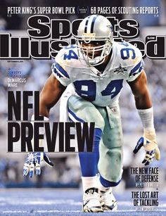 Sports Illustrated 9/5/09 Demarcus Ware