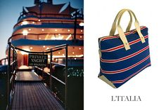 The Last Summer Hurrah #LitaliaStyle #Fashion #Handbag #natical #womansfashion #stripes www.litalia.com