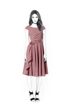 Lekala 4416 Kleid PDF Muster Nähmuster PDF von TipTopFit auf Etsy