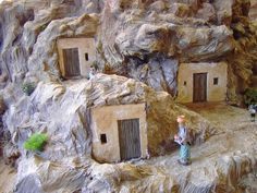 álbumes de fotos Christmas Villages, Christmas Nativity, Stop Motion, Small World, Diy Wall, Handicraft, Diorama, Backdrops, Christmas Decorations