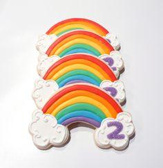 Rainbow Cookies for my sweet girl!!...