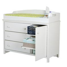 $289 - South Shore Cotton Candy Changing Table with Removable Changing Station