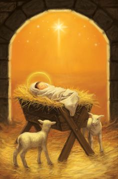 Leading Illustration & Publishing Agency based in London, New York & Marbella. Merry Christmas Gif, Christmas Scenes, Christmas Nativity, Christmas Art, Silent Night Holy Night, Christian Artwork, Heart Wall Art, Jesus Pictures, Christmas Paintings