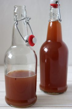 My Kombucha Is Done, Now What?...And How To Bottle Kombucha Tea ~ {Part 3} - Whole Lifestyle Nutrition