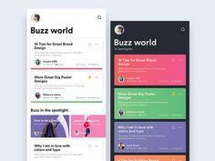 Education Portal UI/UX by Shikha Gupta _ ✍️ on Dribbble Ios App Design, Android Design, Web Design, Mobile Ui Design, Email Design, Interface Design, User Interface, Ui Design Inspiration, Daily Inspiration