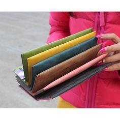$9.86 (Buy here: https://alitems.com/g/1e8d114494ebda23ff8b16525dc3e8/?i=5&ulp=https%3A%2F%2Fwww.aliexpress.com%2Fitem%2FFashion-Long-female-Designer-Famous-Brand-patent-Leather-Wallet-candy-color-cion-pocket-Clutch-Bags-Purse%2F32666775810.html ) Fashion Long female Designer Famous Brand patent  Leather Wallet candy color cion pocket Clutch Bags Purse Card holder wallet for just $9.86