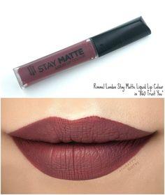 Rimmel London Stay Matte Trust You Lip Gloss Colors, Lipstick Colors, Mood Lipstick, Grey Lipstick, Lipstick Mac, Lipstick Shades, Liquid Lipstick, Lip Colours, Fall Lipstick