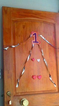 Puerta cumpleaños número1