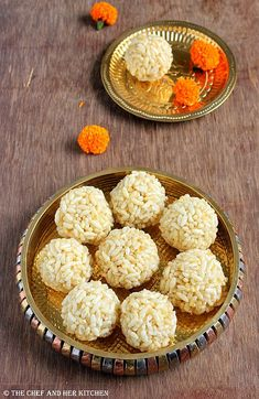 THE CHEF and HER KITCHEN: Karthigai Pori Urundai | Maramarala Laddu | Puffed Rice Ladoo | Kathigai Deepam Recipes
