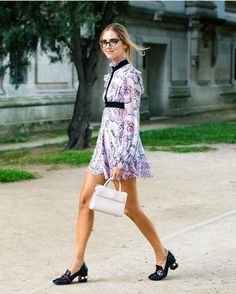 10 best street style finds from couture fashion week: Loafer Around; Gucci Loafer worn by Chiara Ferragni. Style Couture, Couture Week, Haute Couture Fashion, Street Style 2016, Model Street Style, Estilo Blogger, Blond, Cool Outfits, Fashion Outfits