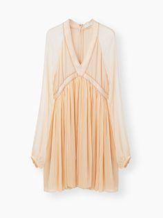 Discover Short Flou Dress and shop online on CHLOE Official Website.