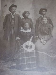Antique-Cabinet-Photo-Caucasian-Man-African-Black-Americana-Interracial-Family