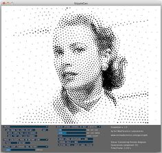 StippleGen: Weighted Voronoi stippling and TSP paths in Processing