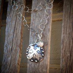 Arrows necklace by Silo Silver
