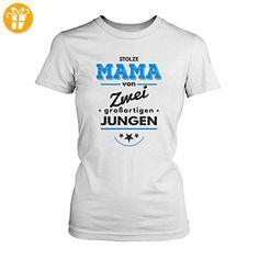 Stolze Mama Von Zwei Großartigen Jungen   Damen T Shirt Von Fashionalarm |  Fun Shirt