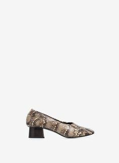Uterqüe Portugal Product Page - Calçado - Sapatos tacão - Sapato de salão tecido - 89