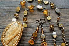 Sahara - náhrdelník Beaded Bracelets, Necklaces, Jewelry, Fashion, Moda, Jewlery, Jewerly, Fashion Styles, Pearl Bracelets