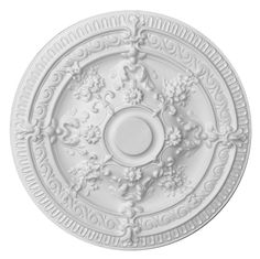 Symple Stuff With its restrained design, the Elena ceiling rose is amongst modern ceiling rose models. Ceiling Decor, Ceiling Lights, Ceiling Chandelier, Wall Decor, Frames Direct, Rectangular Chandelier, Ceiling Fan Downrod, Classic Ceiling, Budget