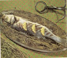 Clean out your rabbit hutch, place the fish on a bed of straw, and there you have it: Splendor In The Grass!