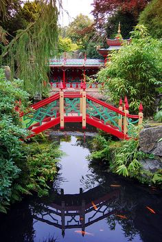 Temple bridge,Biddulph Grange Staffordshire