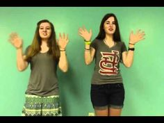 Books of the Bible with hand motions