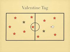 Gym Games - Valentine Tag #physed