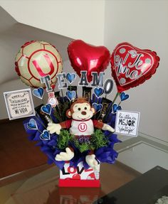 Valentines Day Baskets, Valentines Presents, Valentines Diy, Christmas Ornaments, Holiday Decor, Box, Birthday, Handmade Gifts, Party