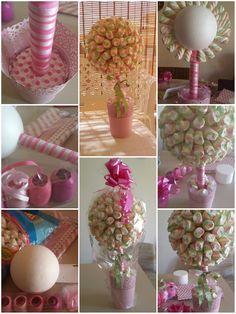 Details about Small Mini Sweet Tree Kit Birthday Candy, Diy Birthday, Unicorn Birthday, Diy Bouquet, Candy Bouquet, Marshmallow Tree, Chocolate Bouquet Diy, Candy Trees, Sweet Trees