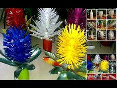 Hand-made!!! flowers from plastic!!! Цветы из пластиковых бутылок!!! Про...