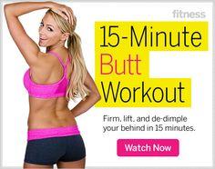 Butt-Sculpting Exercises - Butt Workout for Women