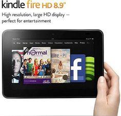 "New Sealed Amazon Kindle Fire HD 8.9"" 64GB 4G LTE Dual-Band Wi-Fi FAST SHIP !"