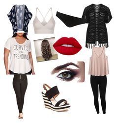 """""""movies"""" by themeltonkids on Polyvore featuring Boutique+, Verpass, M&Co, H&M, City Chic, French Blu, Lime Crime, SPANX, Phase Eight and plus size clothing"""