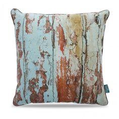 Intimo Collection maakt gezellige sfeer in huis met het sierkussen Rust, kleuren oranje, beige en bruin