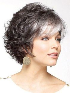 Incomparable Women hairstyles ombre waves,Older women hairstyles for fine hair and Shag hairstyles shoulder length. Curly Bob Hairstyles, Short Curly Hair, Short Hairstyles For Women, Hairstyles With Bangs, Trendy Hairstyles, Short Hair Cuts, Wedding Hairstyles, Black Hairstyles, Pixie Haircuts